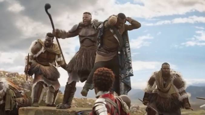 "T'Challa kämpft um den Thron: Neuer Marvel-Film: ""Black Panther"" verspricht viel Action"