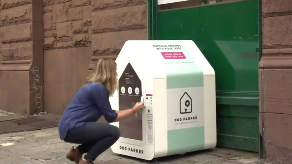 "Hundehotel ""Dog Parker"": Hundebox: Eine Innovation verändert die New Yorker Gassi-Szene"