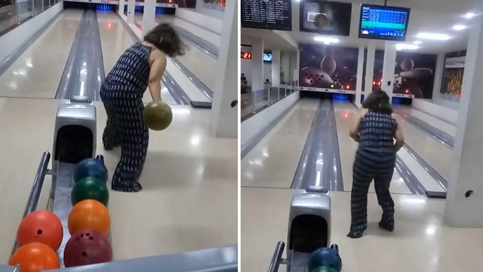 Teurer Patzer: Bowling: Dieser Wurf wird zum peinlichen Desaster