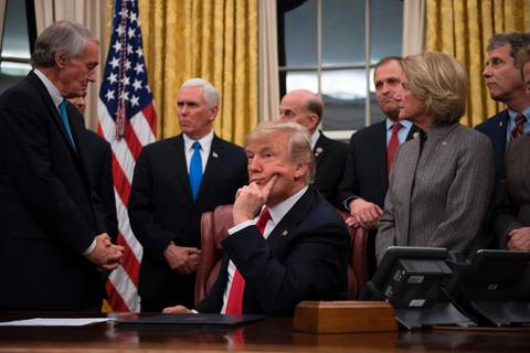 Joe Arpaio: Ausgerechnet: Donald Trump fordert Verschärfung von Verleumdungsgesetzen