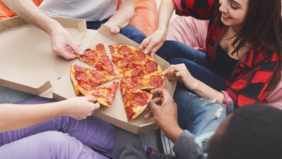 Pizza Bringdienst Test Smileys Domino Calla Pizza Max