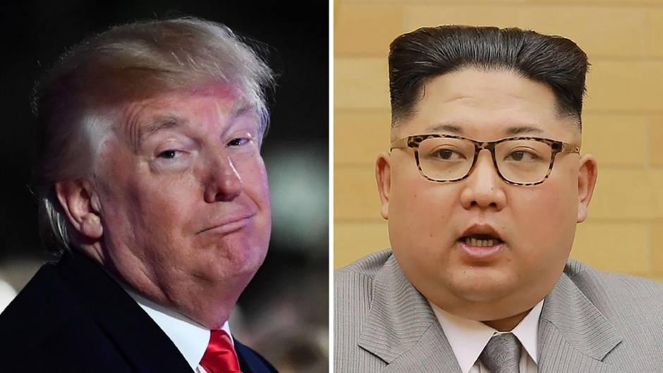 """Nordkorea: """"Ich habe wahrscheinlich ein gutes Verhältnis zu Kim Jong Un"""", glaubt Donald Trump"""