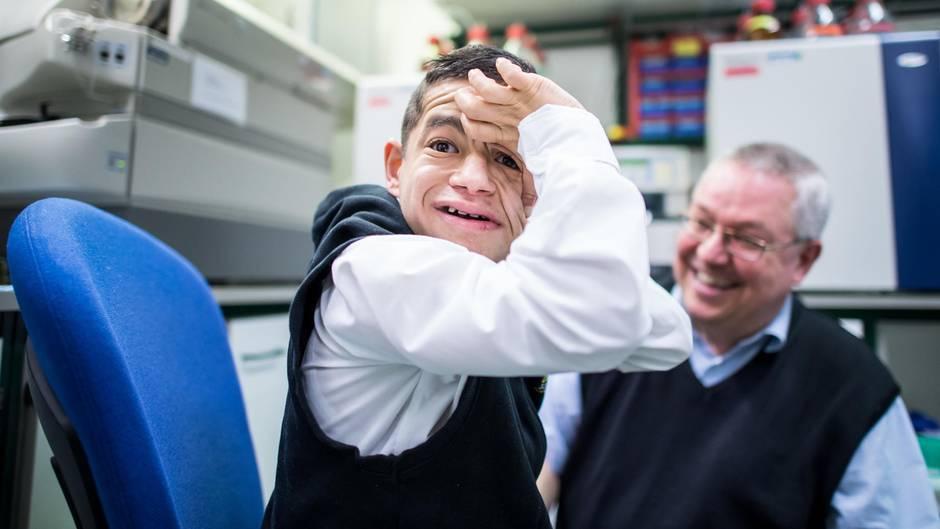 Münster: Der 20-jährige Patient, der immun ist gegen Rizin.