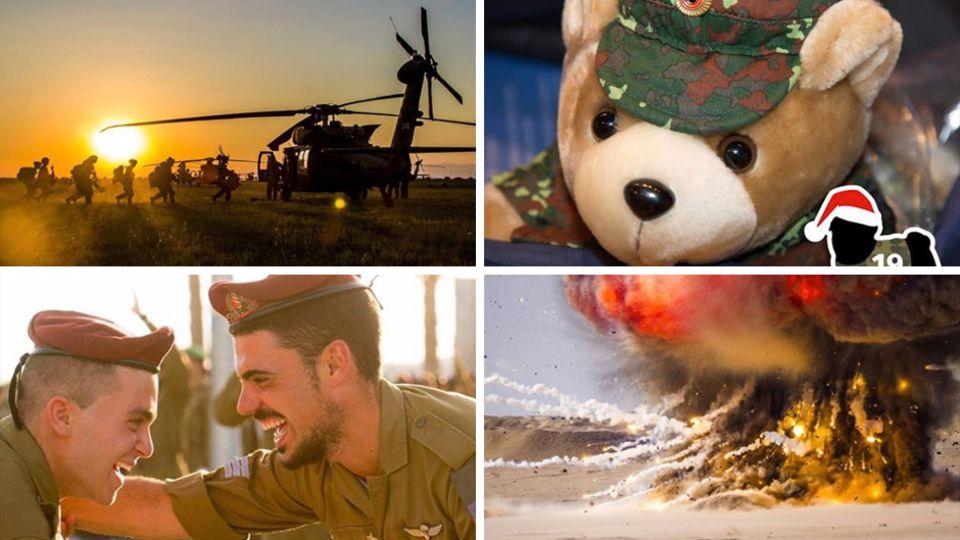 Einsatz im Morgengrauen, Teddybär in Uniform, lachende Soldaten, Explosionen - die ganze Bandbreite des Militär auf Instagram