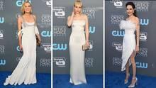Diane Kruger, Emma Roberts und Angelina Jolie kamen in weißer Robe