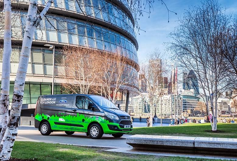 Ford Transit - bald auch elektrisch