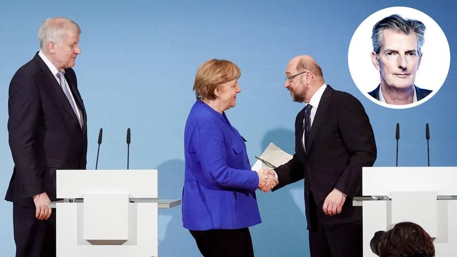 Kommentar des stern-Herausgebers: Mit Hängen und Würgen: Der Koalitionsvertrag steht! Eine erste Analyse von Andreas Petzold