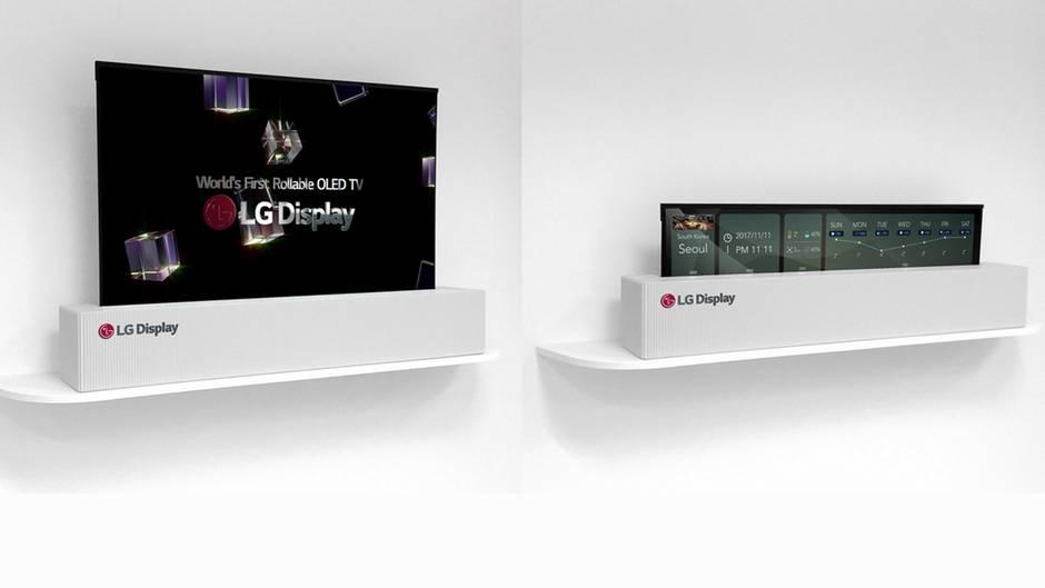 LG Display CES 2018