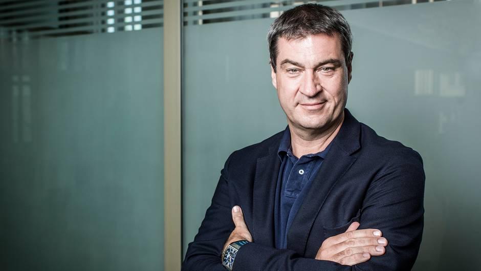 """Neuer CSU-Chef: SPD-Schreck: Warum Markus Söder den Spitznamen """"Dr. No"""" trägt"""