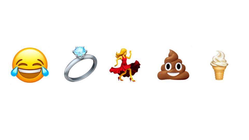 Angela Guzman hat die ersten 500 Emoji mitentworfen. Am schwersten war die tanzende Frau. Doch was haben Kot- und Eis-Emoji miteinander zu tun?