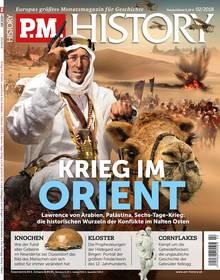 Aus der aktuellen Ausgabe des Geschichtsmagazins P.M. HISTORY, die ab sofort im Handel erhältlich ist