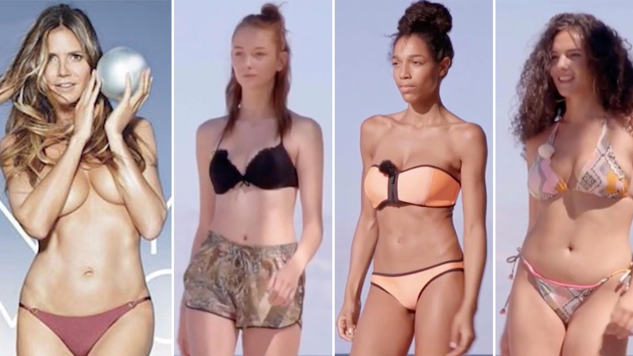 46dcf0d9ac GNTM von Heidi Klum  Penis-Panik wegen nackter Male-Models