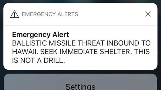 Ein Screenshot der Push-Mitteilung