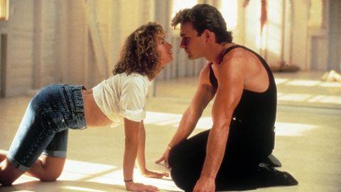 """""""Dirty Dancing"""" ist die Rolle ihres Lebens: Jennifer Grey als """"Baby"""" mit Patrick Swayze."""