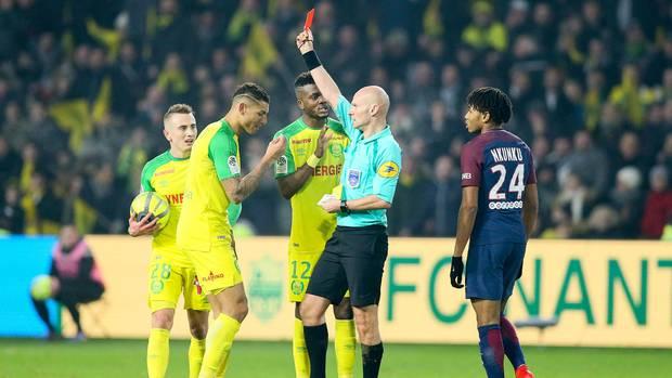 PSG Nantes Rote Karte