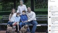 Das mit Photoshop veränderte Familienfoto der Zarings