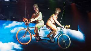 "Die Show ""Viaggio"" des Cirque du Soleil an Bord der ""MSC Meraviglia"""