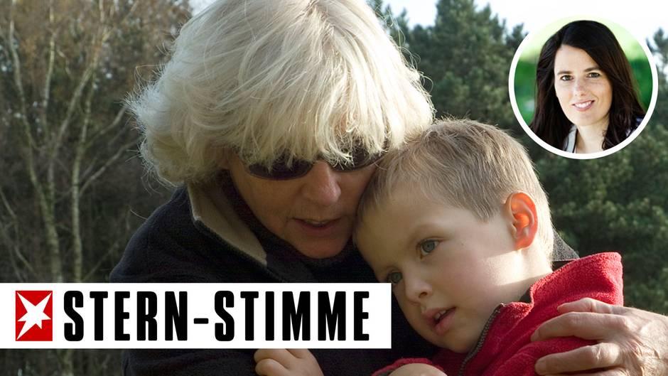 Oma sorgt sich um Enkel