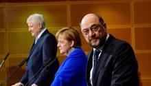 Streit um KoalitionBerliner SPD stimmt gegen die Große Koalition- durch die Partei geht ein Riss