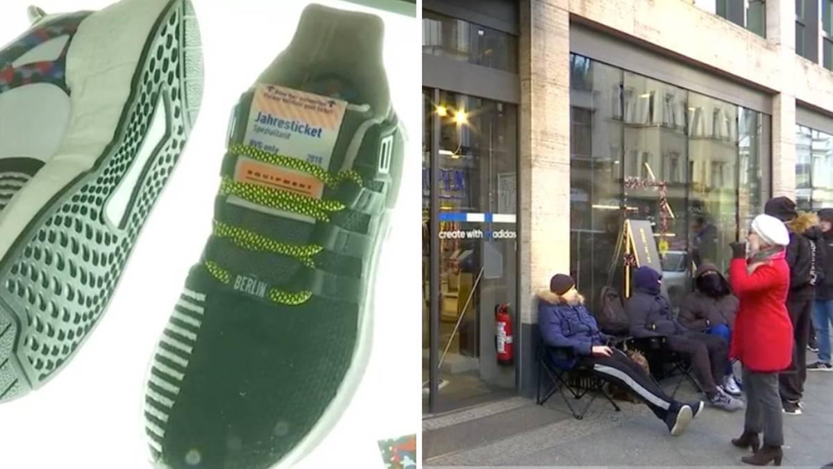 Hype um Turnschuh: Hunderte wollen den BVG Sneaker