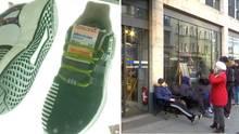 BVG verkauft Schuhe