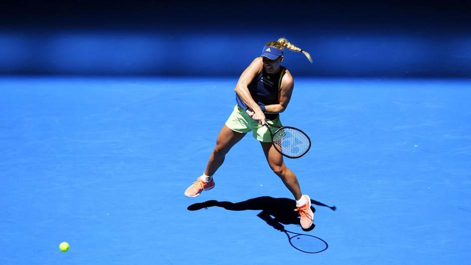 Angelique Kerber bei den Australian Open
