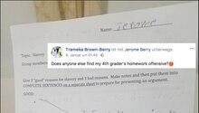 Ein Facebook aus den USA von einer Mutter