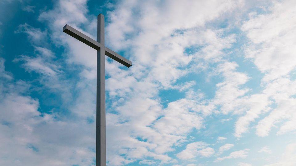 Ein Kirchen-Kreuz