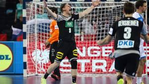 Tobias Reichmann bei der Handball-EM