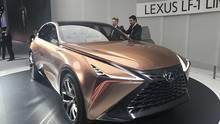 Das Lexus LF 1 Limitless Concept soll den Geschmack der Messebesucher testen