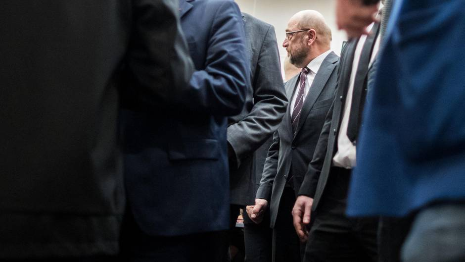 Unter Seinesgleichen: Martin Schulz in Dortmund