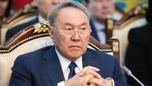 Der Präsident von Kasachstan Nursultan Nasarbajew will bis 2025 die kyrillische Schrift durch eine lateinische ersetzen