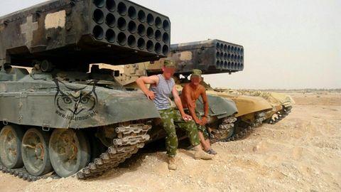 Die Systeme werden auch von russischen Soldaten bedient.