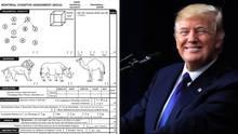 "Das ""MoCA""-Formular und US-Präsident Donald Trump"