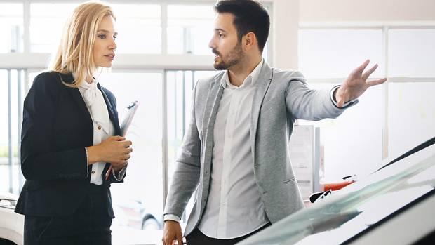 Beim Autokauf sind die Finanzierungskonditionen entscheidend.