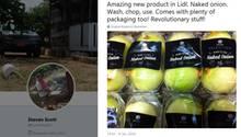 Lidl verkauft geschälte Zwiebeln - in Plastik eingewickelt