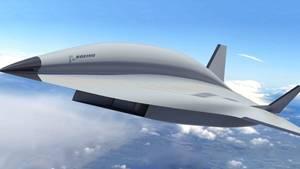 Computergrafik des Boeing-Modells.