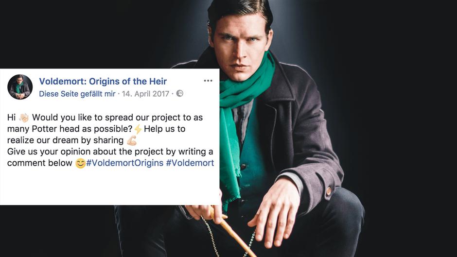 """Das Foto des neuen """"Harry Potter""""-Film """"Voldemort: Origins of the Heir""""."""