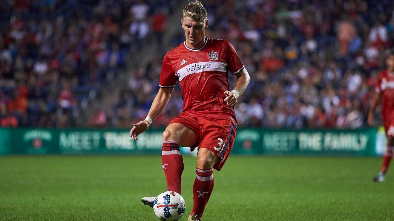 Bastian Schweinsteiger im Dress von Chicago Fire in der US-Fußballliga MLS