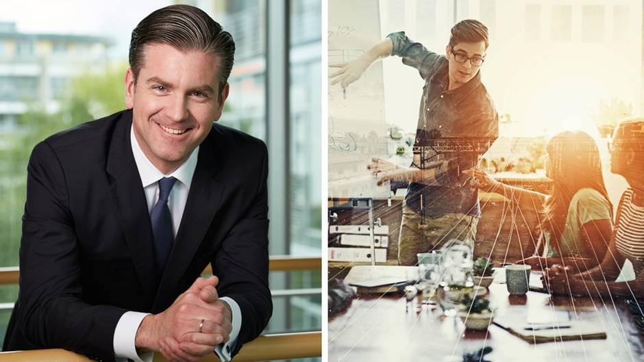 """Zukunft in 100 Sekunden: """"Modernes Arbeiten bedeutet nicht, dass es keinen Chef mehr gibt"""""""