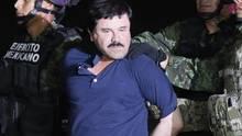 """Der Drogenboss Joaquin Guzman Loera """"El Chapo"""""""