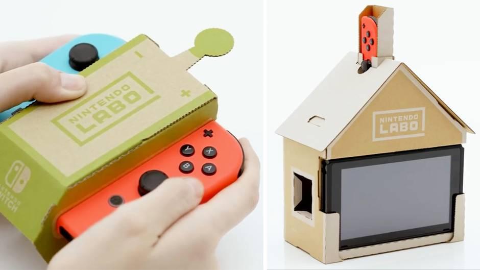 Ein Hauch von Lego: So funktioniert Nintendo Labo