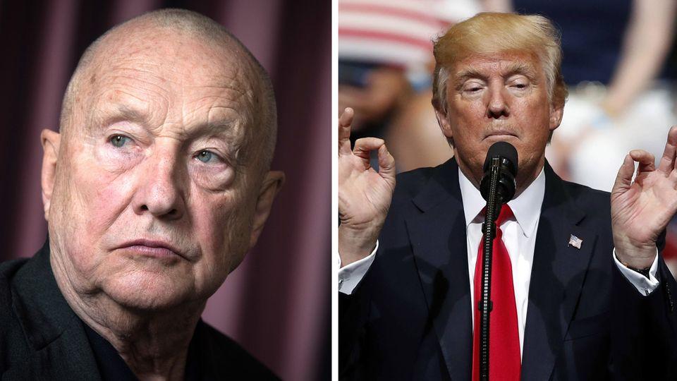 Künstler Georg Baselitz lobt US-Präsident Donald Trump