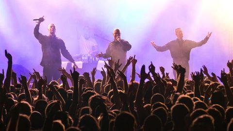 K.I.Z bei einem Konzert in Berlin