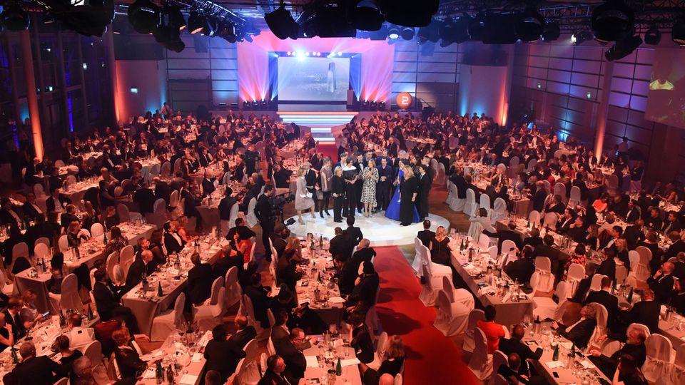 Das Publikum bei der Verleihung des Deutschen Fernsehpreises