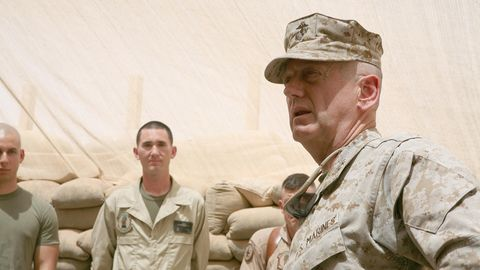 Verteidigungsminister Jim Mattis hält sich fern von den Aufregungen um die Trump-Regierung