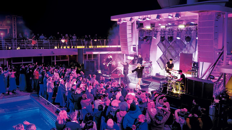 """Kreuzfahrt mit Pop-Bands: Vier Tage an Bord auf der """"Mein Schiff 3"""""""