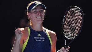 Angelique Kerber siegt gegen die Kroatin Donna Vekic