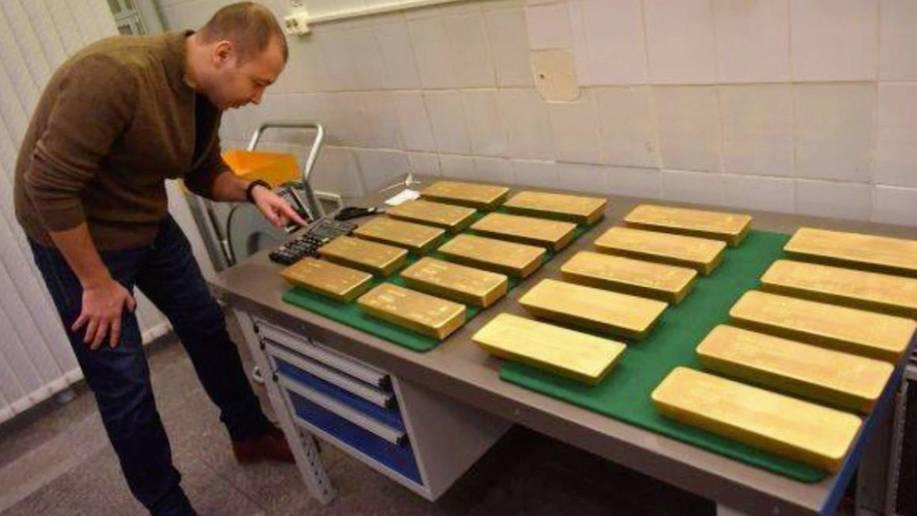 Hochsicherheitsräume der russischen Zentralbank: 1800 Tonnen: Hier lagern Putins Goldreserven