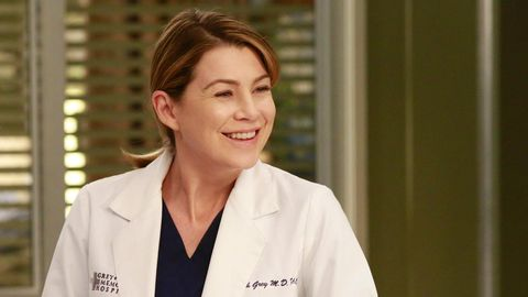 "Ellen Pompeo als Dr. Meredith Grey in der Serie ""Grey's Anatomy"""